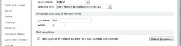 Permalink to How To Add Signatures In Outlook 2010