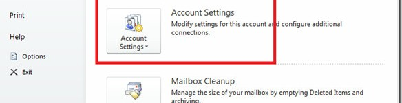 Permalink to Microsoft Outlook 2010 Email Account Settings [Setup]